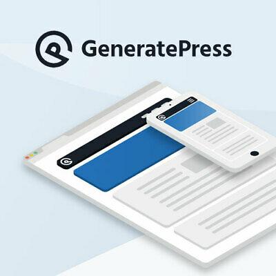 tema generate press SEO wordpress